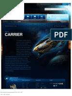 Carrier-Unit Description - Game - StarCraft II