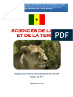 6eme Manuel SVT Senegal