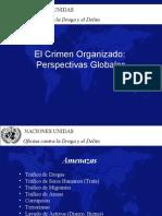 crimen organizado perspectivas globales