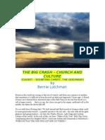 THE BIG CRASH - CHURCH & CULTURE