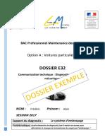Dossier e32 Exemple