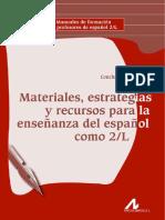 Moreno García Materiales Estrategias Recursos Enseñanza E2L