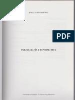 Marin Martinez. Paleografía y Diplomática