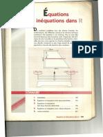11 EQUATIONS ET INEQUATIONS DANS IR
