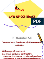 LAW OF CONTRACT slide for 201718