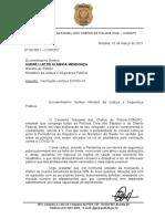 Conselho recorre ao Ministério da Justiça para vacinar policiais civis contra Covid-19