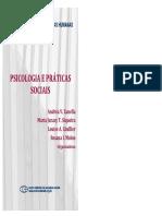 ZANELLA Psicologia e Praticas Sociais LIVRO