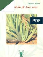 Cultivation of Aloe vera
