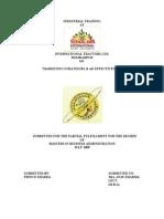 Marketing Strategies( prince report