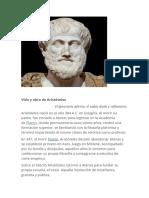 Vida y obra de Aristóteles