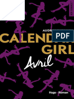 Calendar Girl Avril