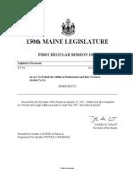 Maine 130 - SP 94 Item 1
