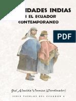 ALMEIDA IDENTIDADES INDIAS EN EL ECUADOR CONTEMPORANEO PRINCIPALES ENFERMEDADES