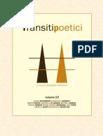 Transiti Poetici Vol XXII