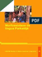 Morfossintaxe da língua Parkatêjê