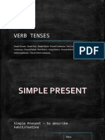 VERB TENSES - Simple Present - Simple Past - Simple Future
