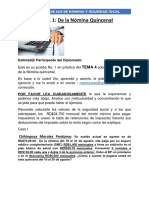FUNJEPRO PRACTICA NO. 1 nomina quincenal