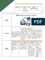 Proyecto de comprensión de  Primer año  Febrero 2021 (1)