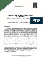 214002539-La-politica-de-liberalizacion-economica-en-la-administracion-de-Menem