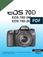 EOS 70D Instruction Manual IT