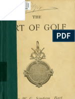 Art of Golf by David Douglas, Edinburgh1892