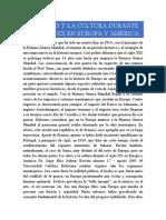 las ideas y la cultura durante el siglo XX Europa y América
