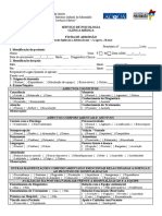 Ficha de Admissão - Psicologica ADL