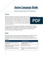 Inclusive language guide