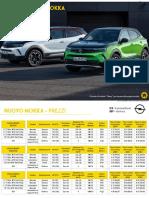 Listino Opel Mokka 03.2021
