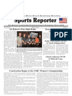 March 2, 2011 Sports Reporter