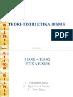 Teori-Teori Etika Bisnis - Bab Ia(2)