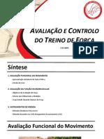 Avaliação e Controlo Do Treino de Força