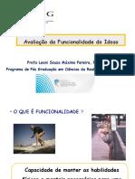 Avaliação Da Funcionalidade Do Idoso - Dra_ Leani Souza Máximo Pereira