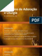 Princípios de Adoração e Liturgia