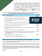 Examen 2016-2017 - M1GC S1 Organisation de chantier