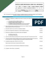 Examen 2017-2018- M1GC S1  Organisation de chantier