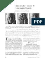 A Inteligência Emocional e o Modelo de Requisitos de Liderança do Exército - MR - 2010