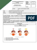 TALLER DE  ESPAÑOL  CLEI 4 ( I .E CHURIDO PUEBLO) DOCENTE IRIS URRUTIA M.