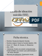 12. Escala de ideación suicida (SSI)