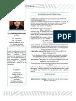 Currículum Alberto Estudios Socioeconomicos