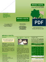 Mehdia Hostel Brochure