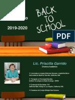 03 Staff Académico CBNH 5to a 8vo Grado 2018-2019