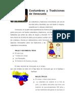 135622080 Costumbres y Tradiciones de Venezuela