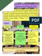 DECERTO 67 EVALUACIÓN FORMATIVA IV CRITERIOS DE LOGRO