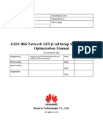 GSM BSS Network KPI (Call Setup Success Rate) Optimization Manual V1.0