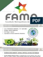 2016-1 - Aula 02 - Direito Ambiental - Espécies de Meio Ambiente - Princípios Do Direito Ambiental 21-02-2016