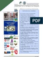 Horarios Ponencias I Congreso AMPA ATSETNAT