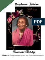 Lula Mae Stewart Mathews