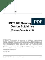 UMTS RF Planning Guidelines v3 7 Ericsson 20070117
