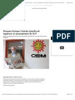 28.02.2021 Presenta Enrique Galindo Planilla de Regidores Al Ayuntamiento de SLP